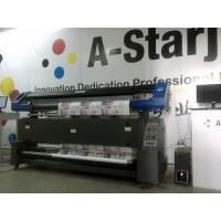 Quality DX7 Printhead Dye Sublimation Printing on Fabric , Sublimation T Shirt Printer for sale
