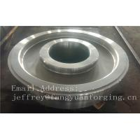 Wholesale EN JIS ASTM AISI BS DIN Forged Wheel Blanks Parts Grinding Wheel Helical Ring Gear Wheel from china suppliers