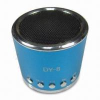 Wholesale Novelty Speaker with FM Function and Aluminum Alloy Housing from china suppliers