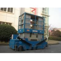 Quality Blue 16 M Mobile Elevating Work Platform Multi Mast Type With 160 kg Load for sale
