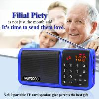 Wholesale EQ effect portable FM radio subwoofer speaker with LED flashlight from china suppliers