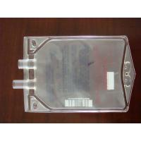China Custom Transparent Disposable 100ml / 500ml PVC Infusion Bag with Dual Port on sale