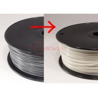 Wholesale 3D Printing Materials / 3MM Color Changing Filament Spool For Makerbot UP from china suppliers