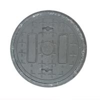 China D300-1 Manufcture composite manhole covers solid round drain covers with base dia 300*30mm BMC/SMC/FRP customized on sale