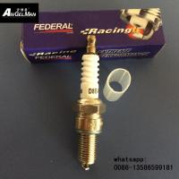 Quality White ceramic D8TC Motorcycle Spark Plug D8EA For H0NDA for sale
