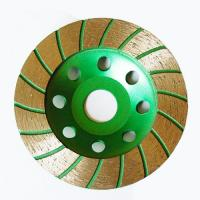 Wholesale OEM Diamond Turbo Cup Wheel , Turbo Cup Grinding Wheel For Stone from china suppliers