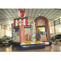 Wholesale Commercial Pirate Ship Bounce House , Indoor Playground Pirate Ship Bouncer 5 X 6m from china suppliers