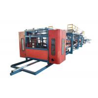 China Rock Wool Sandwich Panel Forming Machine / Sandwich Panel Machine Line Size 30*2.2*2.5m on sale