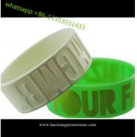 HOT Sale! Custom Design Colorful silicone wristband, best printed rubber wristband for sale