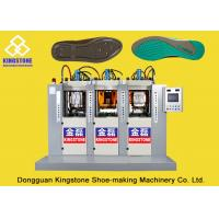 Wholesale Static Three Stations Shoe Sole Moulding Machine , TPU TPR TR PVC Sole Making Machine from china suppliers