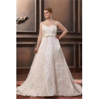 Wholesale Latest Plus Size Lace Bridal Dress A Line Ivory Strapless Sweetheart Wedding Gowns from china suppliers