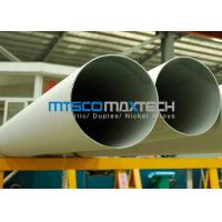 Wholesale 347 , 321 , 316Ti , 317L Stainless Steel Pipe 0 To 40 SWG  Bevel End / Plain End from china suppliers