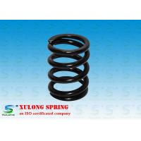 China 7MM Wire Machinery Springs / Compression Damping Springs Black Powder Coated on sale