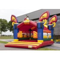 Wholesale Saloon Kids Red Commercial Jumping Castles Birthday Party Bounce House Games from china suppliers
