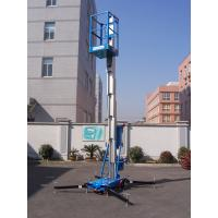 Quality Trailer Mounted Vertical Single Mast Lift 8 Meter Mobile Elevating Working Platform for sale