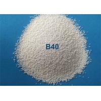 China Low Breakdown Rate Ceramic Bead Blasting Media For Metal Surface Finish for sale