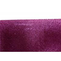 Wholesale Wall Paper Sparkle Glitter Fabric , Diy Decoration PVC Glitter Fabric from china suppliers