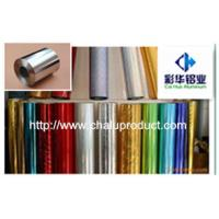 Buy cheap Colored aluminum foil for packing from wholesalers