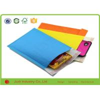 Wholesale Print Kraft Bubble Padded Bags , Colorful Self Adhesive Poly Mailer Envelopes from china suppliers