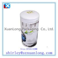 Wholesale round tea tin box from china suppliers