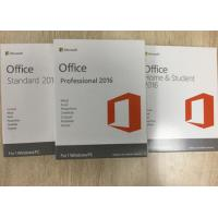 Wholesale Full Version Microsoft Office Professional Plus 2016 License Key / Retail Package from china suppliers