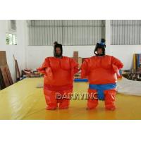 Wholesale Party Wrestling Fancy Dress Adult Inflatable Model Sumo Costume Suits With Battery from china suppliers