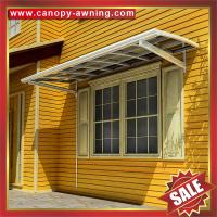 Wholesale outdoor villa house building patio gazebo window door aluminum polycarbonate pc awning canopy canopies cover kits from china suppliers