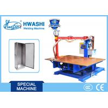 HWASHI WL-SMF-75K DC Crank-Arm Sheet Metal Cabinet Table Spot Welding Machine for sale