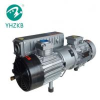 China XD-100 3KW 50Pa cast iron color grey oil sealed rotary vane vacuum pump for sale