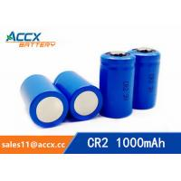 Wholesale CR2 3.0V 1000mAh LiMnO2 Battery non-recharegable battery primary battery from china suppliers