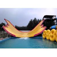 China Professional Theme Fiberglass Waves Water Park Slides for Children on sale