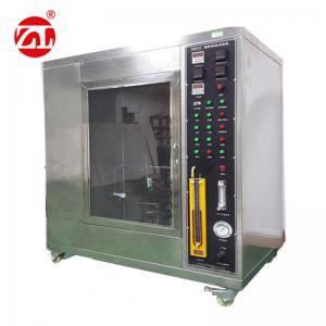 Cable Burn Horizontal Universal Testing Machine , Vertical Horizontal Testing Machine