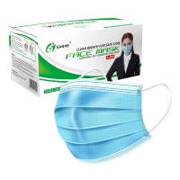 Wholesale ASTM F2100 17.5*9.5cm Disposable Surgical Face Mask from china suppliers