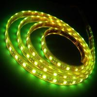 DC 12V / 24V Outdoor Waterproof RGB 5050 SMD Warm White Yellow Flexible Led Strip Lights for sale
