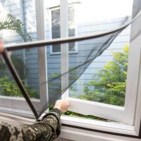 China Anti mosquito zika protection - DIY Magnetic strips window screen on sale