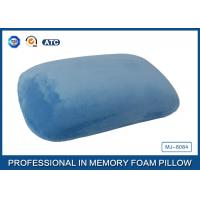 Wholesale Blue Crystal Velvet Relaxation Memory Foam Sleep Pillow Or Nap Pillow from china suppliers