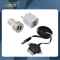Quality CE Approval Car Power Charger Kit , Mini Charger kit with Double Dual USB for sale