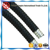 Wholesale Black cover no-conductive oil  resistant  PVC Coated Flexible Conduit metal hose from china suppliers
