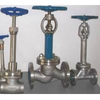 China Cryogenic Bellow Seal Globe Valve Extended Bonnet LF2 LCB LCC CF3M For Air Gases for sale
