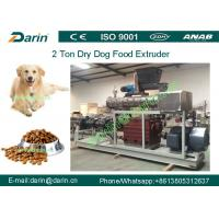 Wholesale Double screw Automatic dry Pet Food Extruder production machine from china suppliers