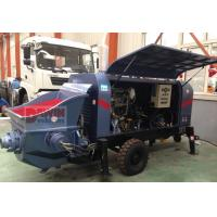 Wholesale 30m3 40m3/hr Small trailer hydraulic concrete pump with diesel or electric power from china suppliers