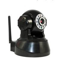 Wholesale Infrared CMOS Wireless IP Cameras with Control Cradle Head and 11pcs Infrared LED from china suppliers