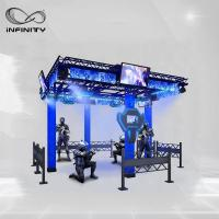Wholesale 9D Multiplayer Virtual Reality Walking Platform / VR Walking Simulator from china suppliers