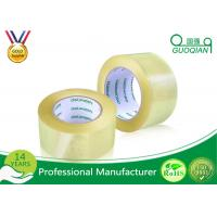 Wholesale Anti Buffer Acrylic Strong Clear Adhesive Tape , Personalized Crystal Clear Tape Water Base from china suppliers
