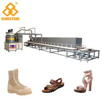 Quality Mono / Two Color Polyurethane PU Pouring Machine For Shoe Soles / Full Automatic for sale