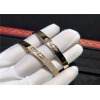 Wholesale handmade 18K Gold Messika Move Noa Bangle , Diamond Paved Messika Move Bracelet from china suppliers