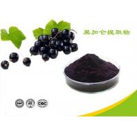 Wholesale Natural Water Soluble Freeze Dried Black Currant Extract Powder Anthocyanins from china suppliers