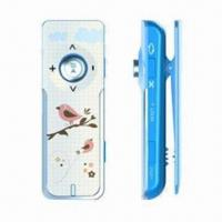 China Clip-on Flash MP3 Player for Sports, Built-in Battery, Multiple EQ Modes and Key-hold Function on sale