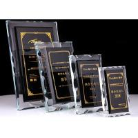 Wholesale Durable Crystal Glass Golf Trophies Cup Black Color Matching CE CCC Certificated from china suppliers