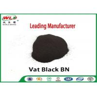 China Permanent Vat Dyes Black Bn Wool Fabric Dye Synthetic Organic Dyestuffs on sale